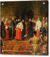 Queen Victoria Opening  Acrylic Print