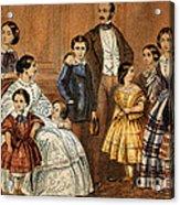 Queen Victoria, Prince Albert Acrylic Print