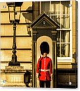 Queens Guards. Acrylic Print