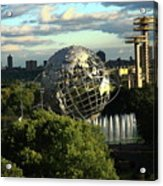 Queens New York City - Unisphere Acrylic Print