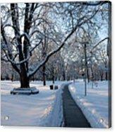 Queen's Park Pathway Acrylic Print