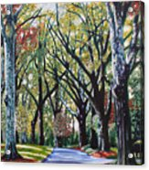 Queens Road West Acrylic Print by Jerry Kirk