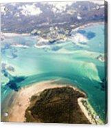 Queensland Island Bay Landscape Acrylic Print