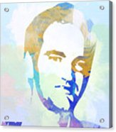 Quentin Tarantino Acrylic Print by Naxart Studio