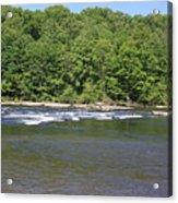 Quick River Acrylic Print