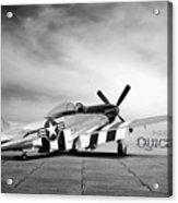Quick Silver P-51  Acrylic Print