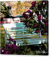 Quiet And At Peace Acrylic Print