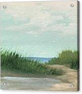 Quiet Beach Acrylic Print