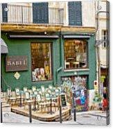 Quiet Cafes In Palma Majorca Spain   Acrylic Print