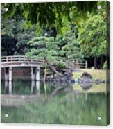 Quiet Day In Tokyo Park Acrylic Print