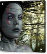 Quiet Gaze V2 Acrylic Print