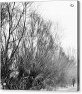 Quiet - Impressionist Street Photography Acrylic Print