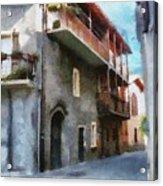 Quiet In Almenno San Salvatore Acrylic Print