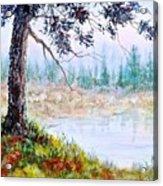 Quiet Inlet Acrylic Print