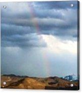 Quiet Rainbow Acrylic Print