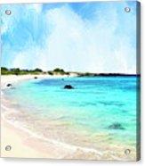 Quiet Shore Near Makalawena Acrylic Print