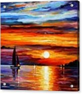 Quiet Sunset Acrylic Print