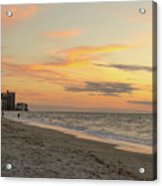 Quiet Time At The Beach Acrylic Print