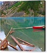 Moraine Lake I, Alberta Acrylic Print