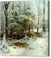 Quiet Winter Afternoon Acrylic Print