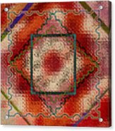 Quilt Block Transformed Acrylic Print