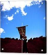 Quilted Sky  Acrylic Print
