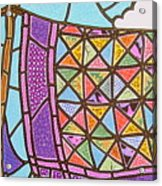 Quilts Online Acrylic Print