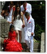 People Series - Quinceanera Ceremony  Acrylic Print