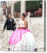 Quinze Anos In San Miguel Acrylic Print