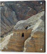 Qumran Cave Acrylic Print