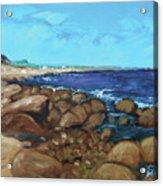 Quonocontaug West Beach Acrylic Print