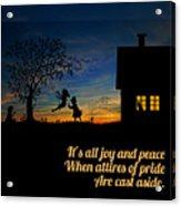 Quote2 Acrylic Print