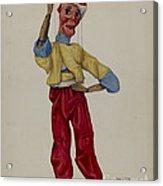 """sinbad"" Marionette Acrylic Print"