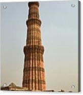 Qutb Minar In New Delhi Acrylic Print