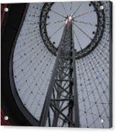 R F P Pavilion Support Ring - Spokane Washington Acrylic Print by Daniel Hagerman