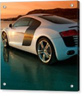 R8 On The Beach 2 Acrylic Print by Rory Trappe
