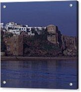 Rabat Kasbah Des Oudaias Bouregreg River Morocco Acrylic Print