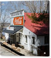 Rabbit Hash Store-front View Angle Acrylic Print