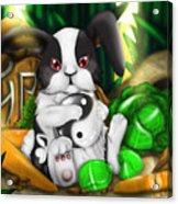 Rabbit In Chinese Zodiac Acrylic Print