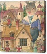 Rabbit Marcus The Great 16 Acrylic Print