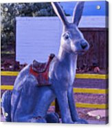 Rabbit Ride Route 66 Acrylic Print