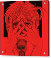 Rabid Breathing Red Variant Acrylic Print