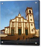 Rabo De Peixe Church Acrylic Print