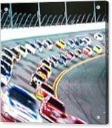 Race Fan Acrylic Print