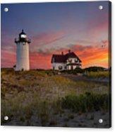 Race Point Light Sunset 2015 Acrylic Print