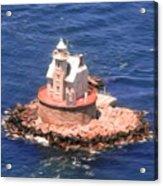 Race Rock Lighthouse Acrylic Print
