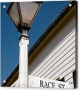 Race St Old Salem Acrylic Print