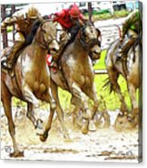 Racetrack Dreams 11 Acrylic Print