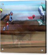Racetrack Dreams 2 Acrylic Print