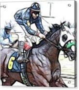 Racetrack Dreams 8 Acrylic Print